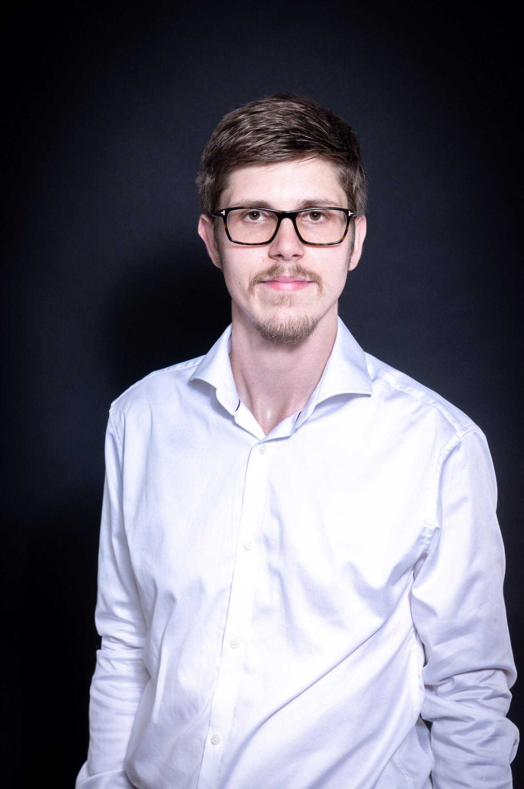 Gregor im Businesslook
